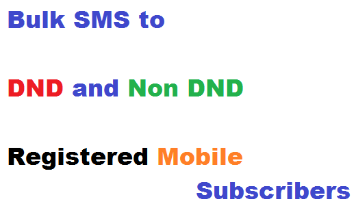 Bulk SMS to Indian Mobile Numbers
