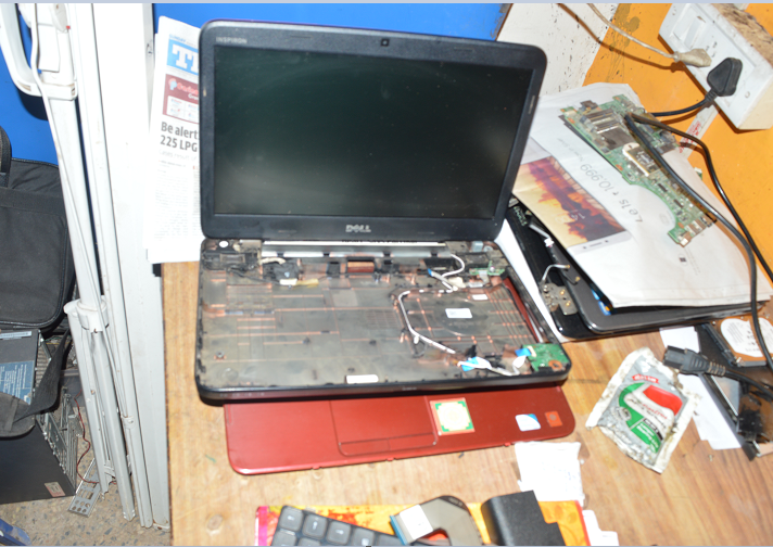 Dell Laptop Repair at Laptop Repairing Workshop